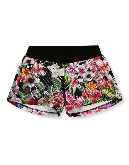 Jogging Shorts Flowers