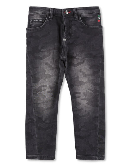 Denim Trousers Camouflage