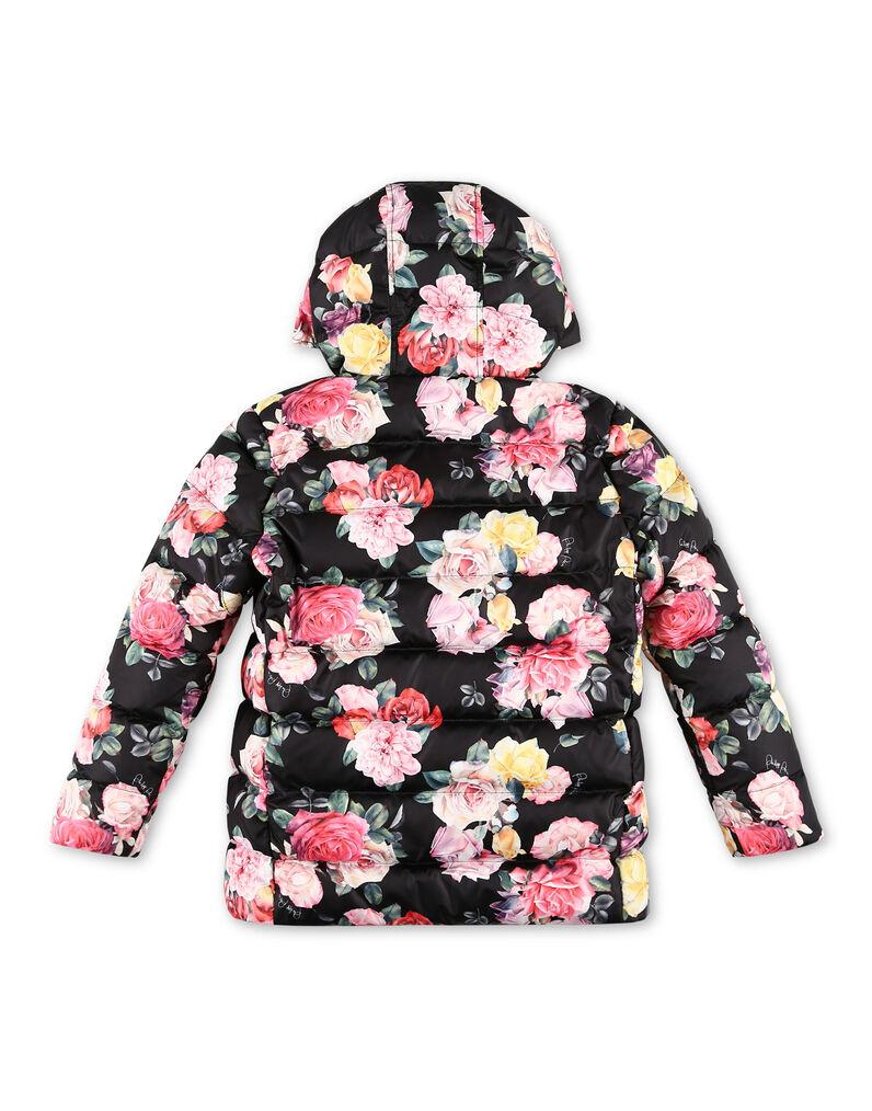 Nylon Jacket Flowers