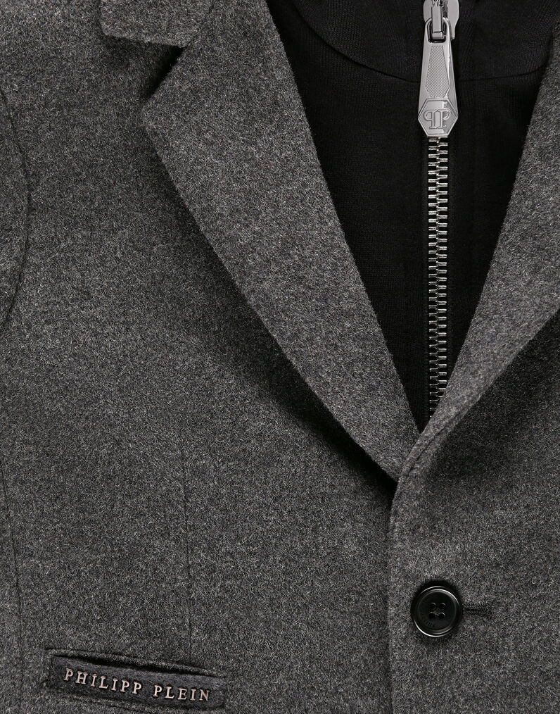 Coat Long Hexagon