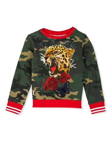Sweatshirt LS Tiger girl