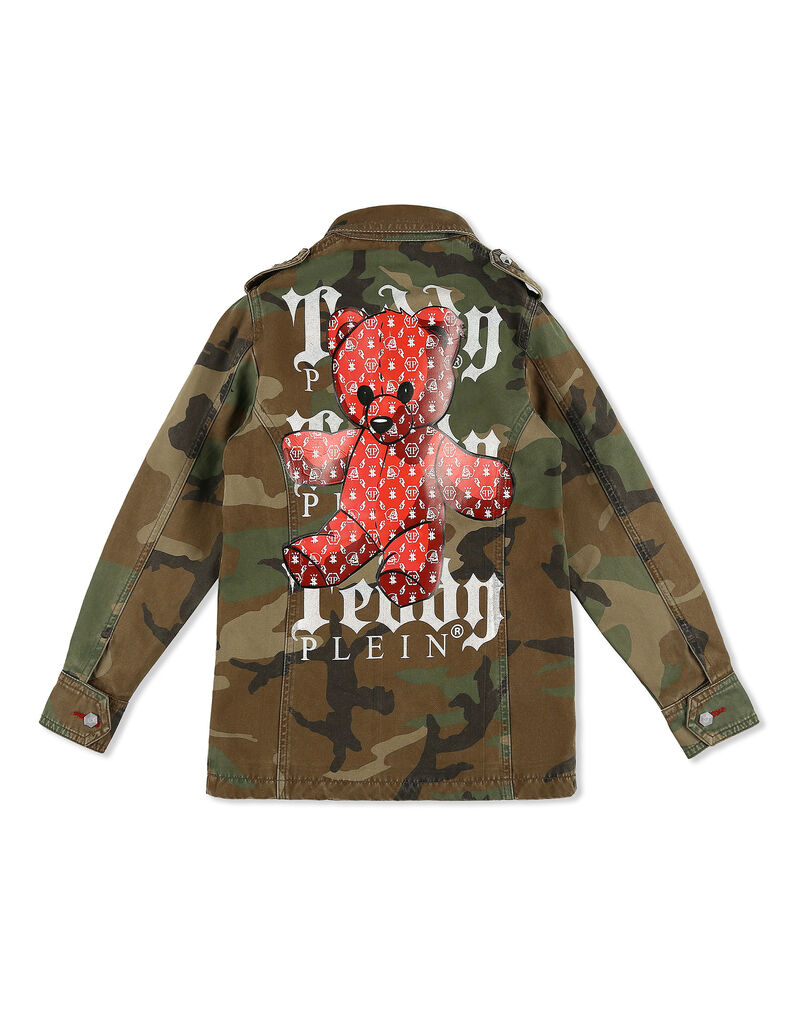 Parka Teddy Bear