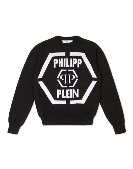 Pullover Round Neck LS Statement