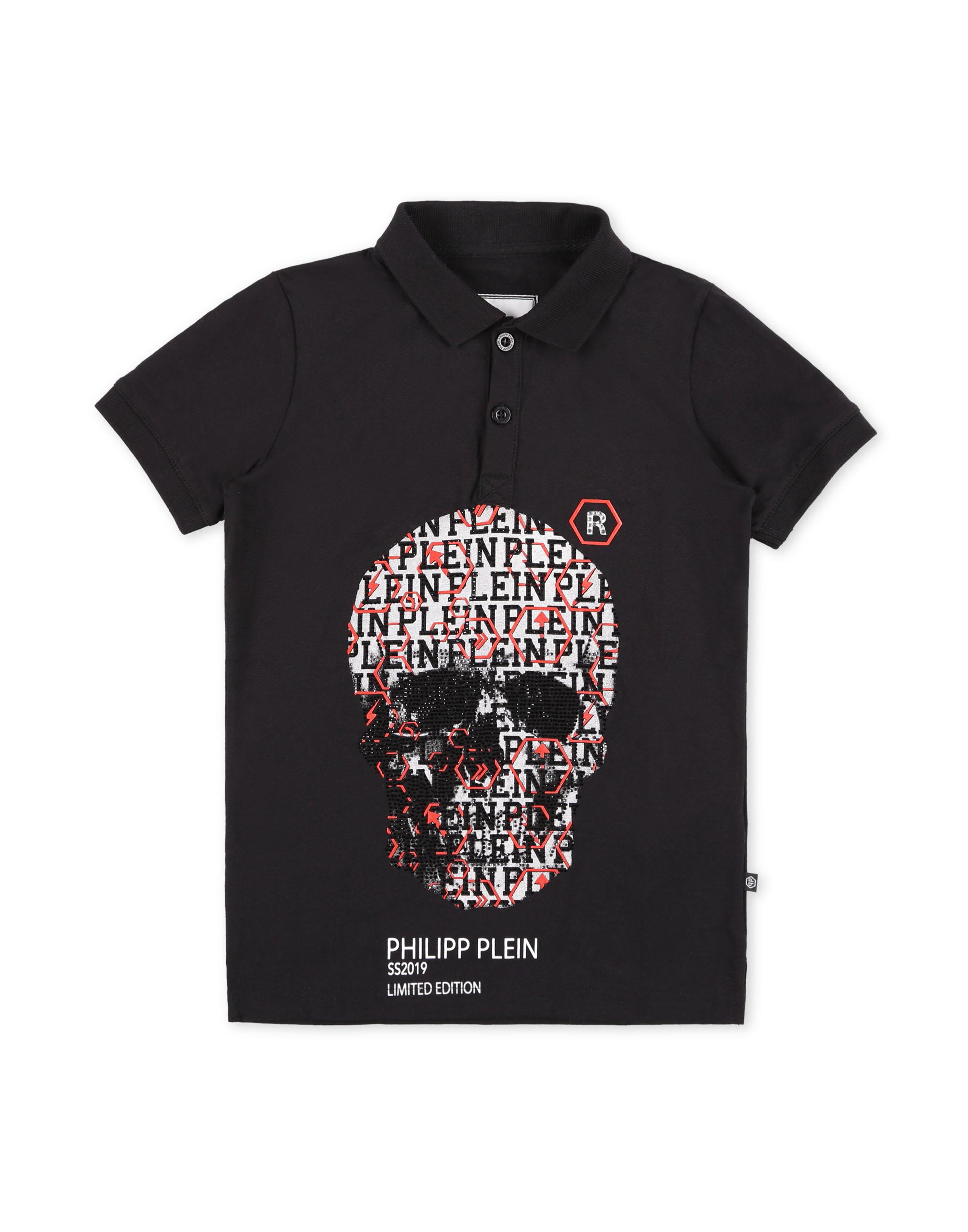 4fd95ed6179 Polo shirt SS Geometric | Philipp Plein Junior