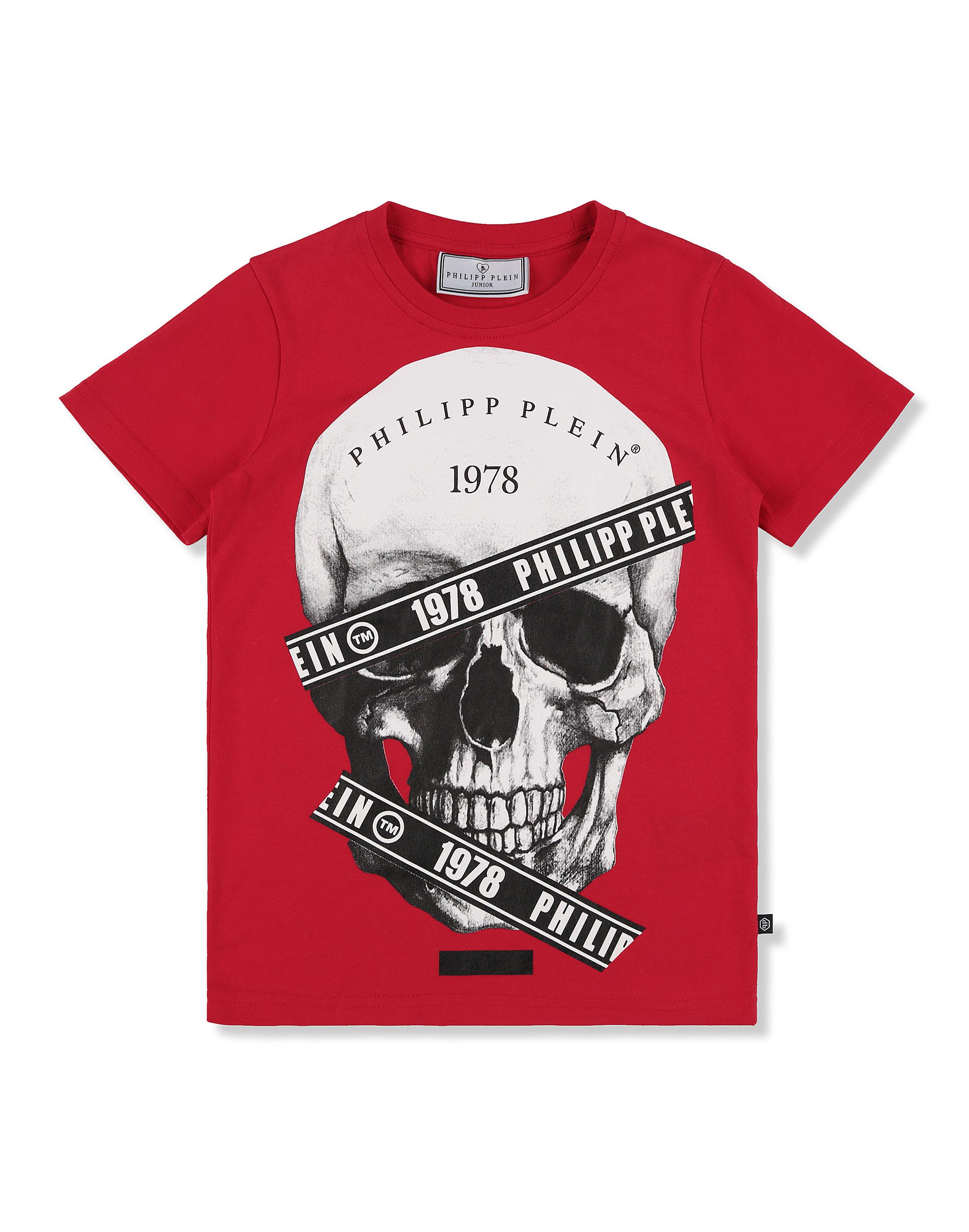2e6aff3c3ea T-shirt Round Neck SS Skull | Philipp Plein Junior