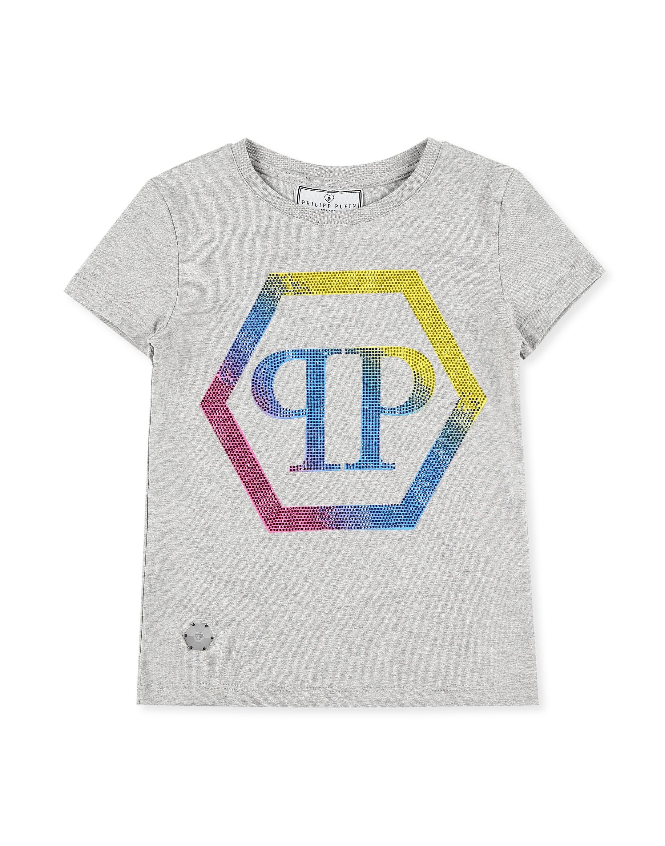 dbb28ae143 T-shirt Round Neck SS Statement | Philipp Plein Junior