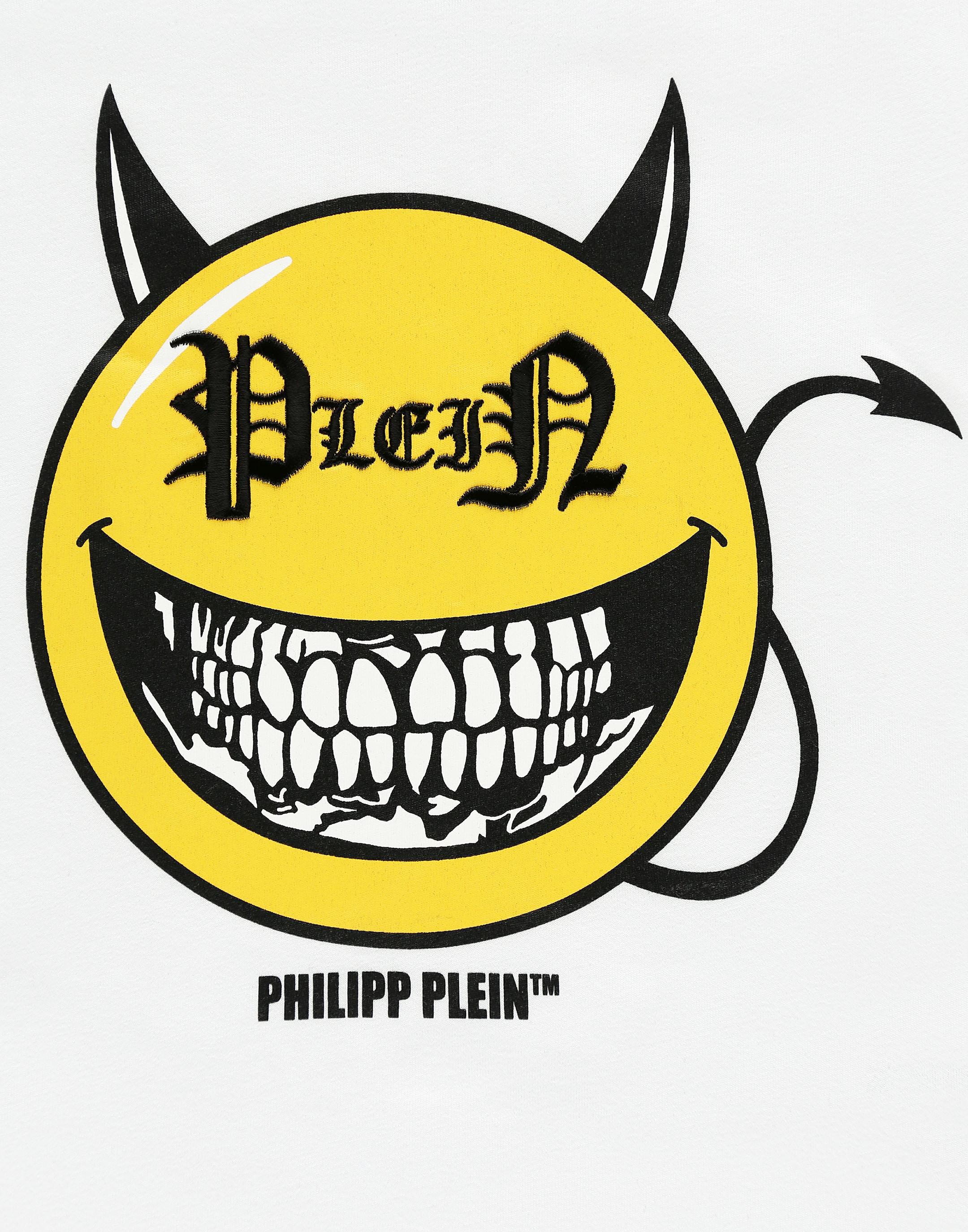 T Shirt Round Neck Ss Evil Smile Philipp Plein Junior Download the perfect evil smile pictures. t shirt round neck ss evil smile