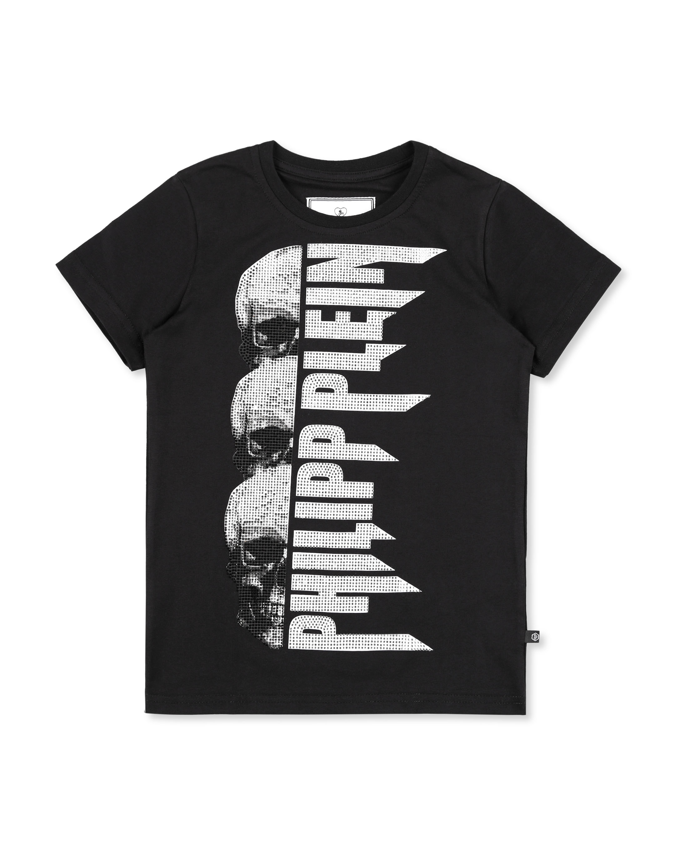 795110332 T-shirt Round Neck SS Rock PP | Philipp Plein Junior